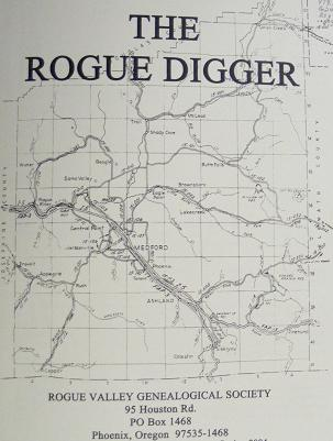Picture of the Rogue Digger cover.