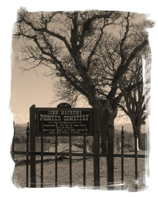Picture of a pioneer headstone
