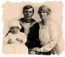 photo of a couple with child